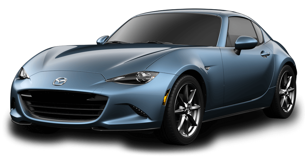 2017 Mazda MX-5 RF in reflex blue