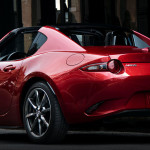 2017 Mazda MX-5 RF rear view
