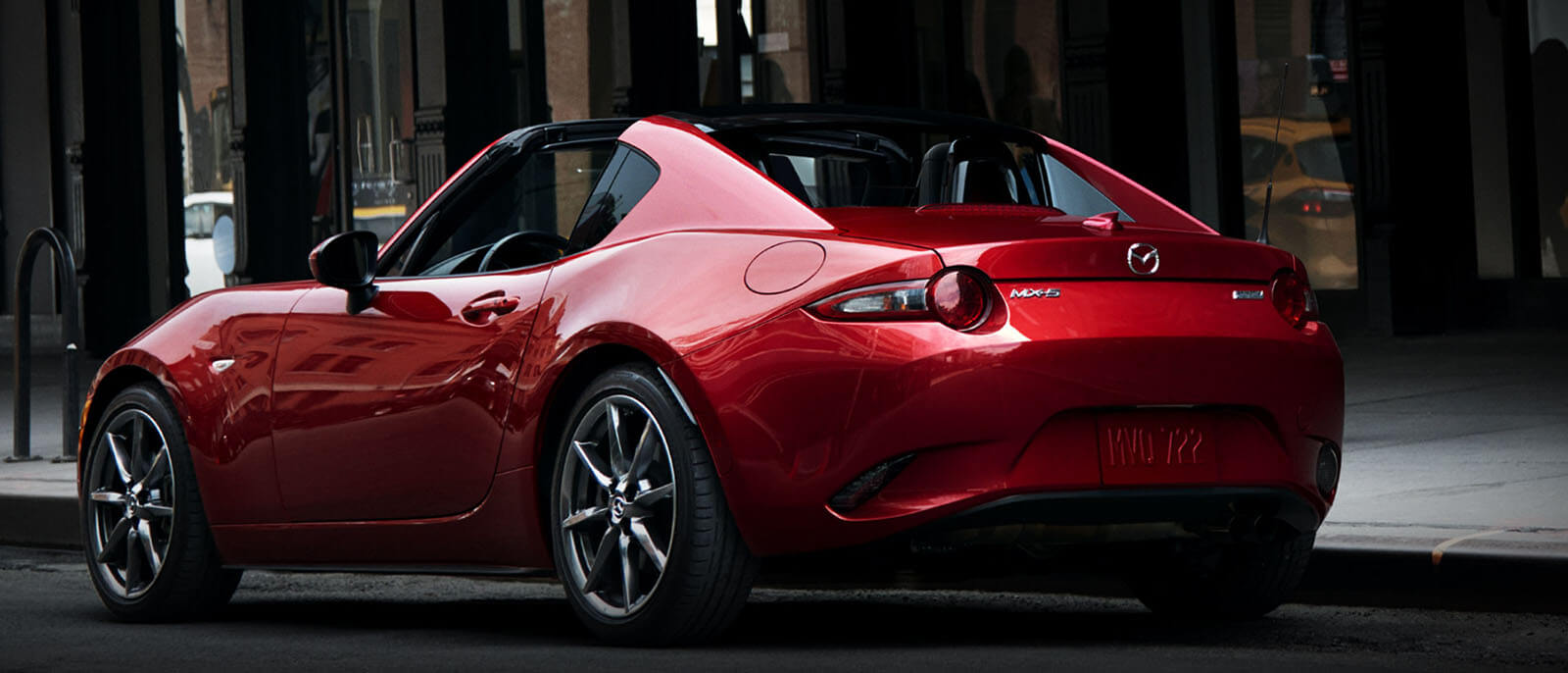 2017 Mazda MX-5 RF rear view