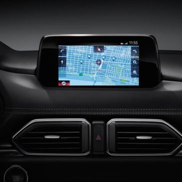 2017 Mazda CX 5 infotainment screen