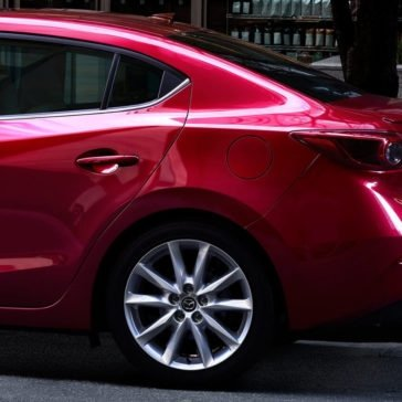 2017 Mazda3 rear profile