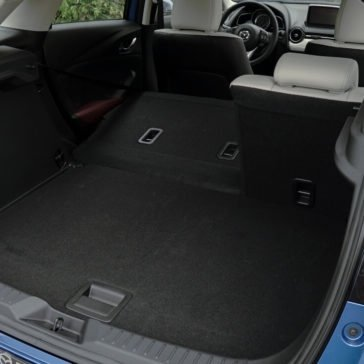 2017 Mazda CX-3 Cargo Space