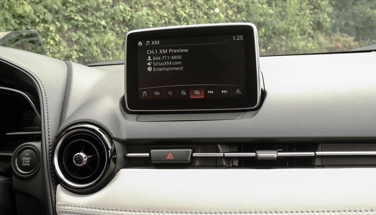 2017 Mazda CX-3 Infotainment
