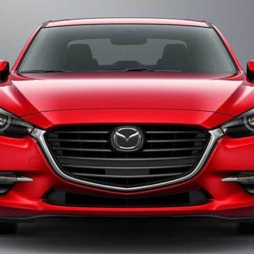 2018 Mazda3 Sedan Front End View