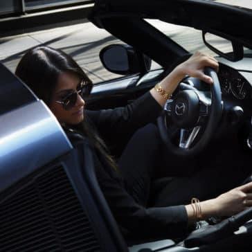 2017 mazda mx-5 miata rf interior drivers seat