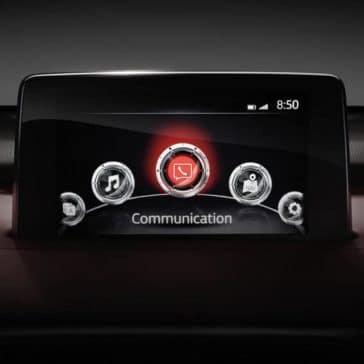 2018 mazda cx-9 mazda connect infotainment system