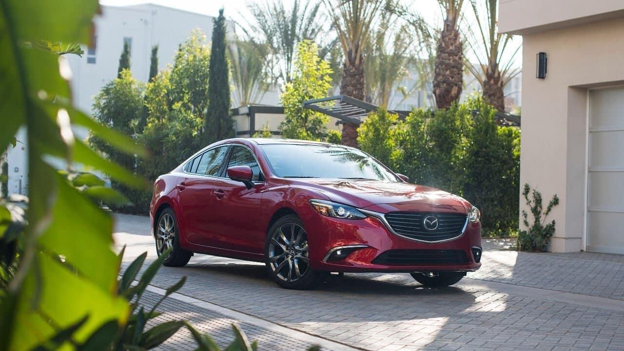 2018 Mazda6 profile