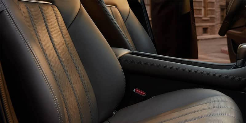 2018 Mazda6 Interior Seating Closeup