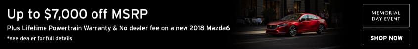Mazda6 Memorial Day