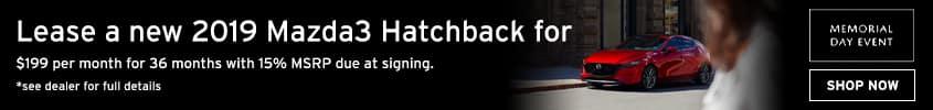 Mazda3 Hatchback Memorial Day
