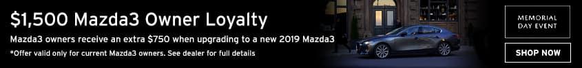 Mazda Loyalty Memorial Day