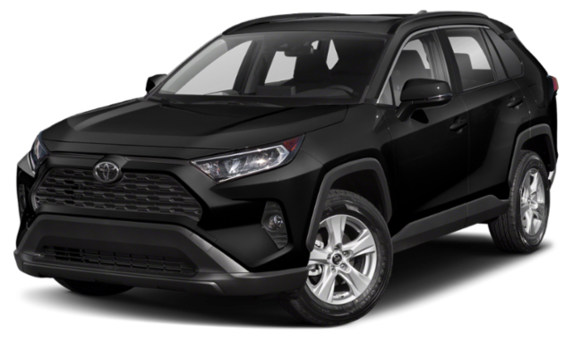 2019 toyota rav4 black exterior