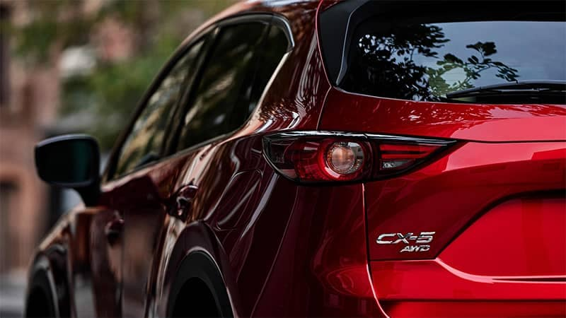Mazda CX-5 Rear End Closeup