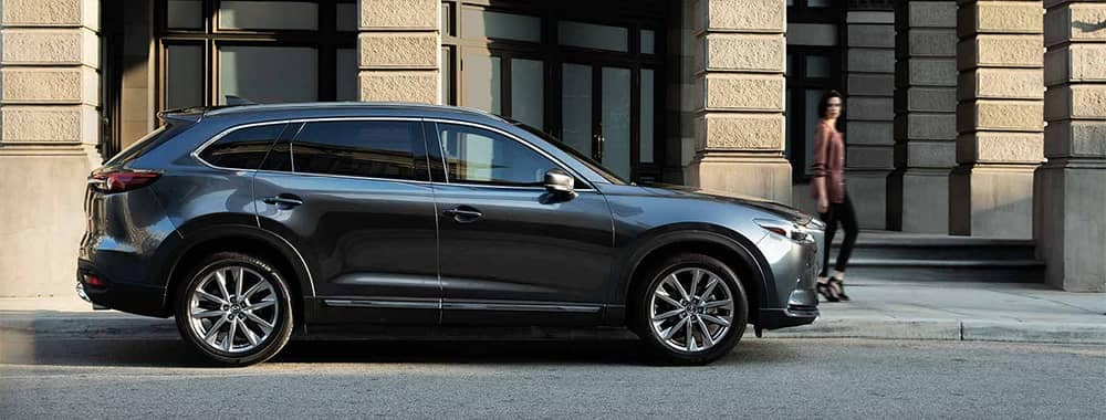 Mazda CX-9 Parked on Side of Road
