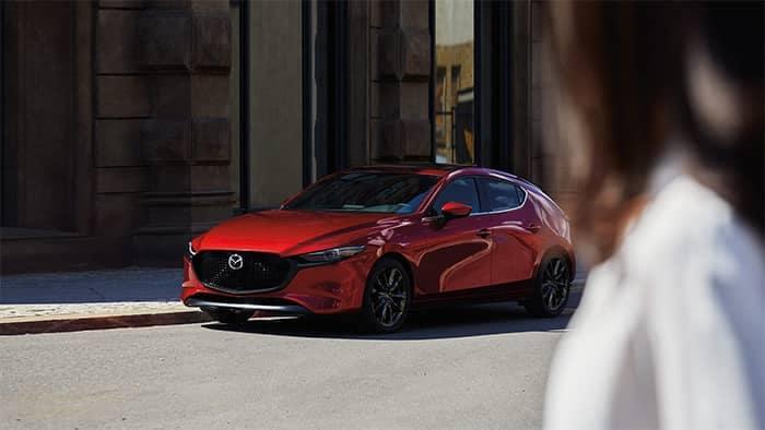 Mazda3 Hatchback Parked