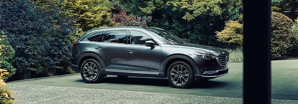 Mazda CX-9 Parked Outside Home