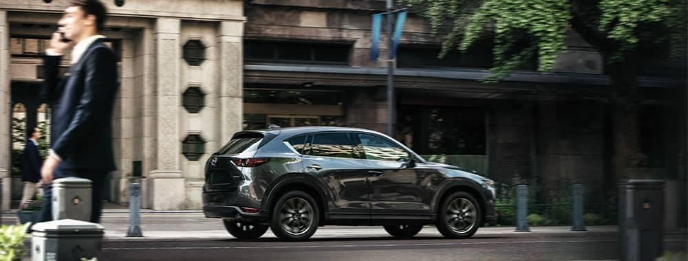 Mazda CX-5 Driving Through Town