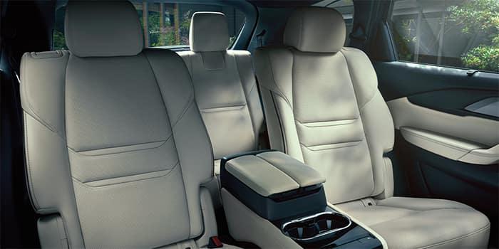 Mazda CX-9 Rear Seat Seating Configuration