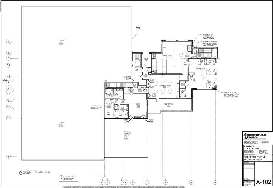 4 3 2017 A 102 Proposed Second Floor Plan