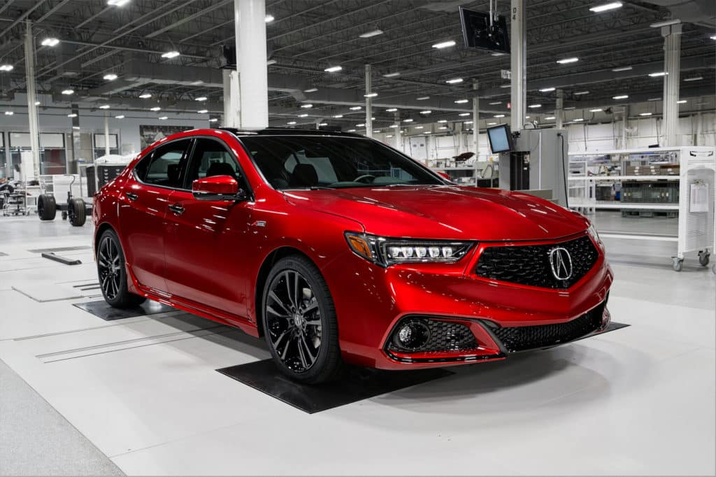 2020 Acura Tlx Pmc Edition Curry Acura
