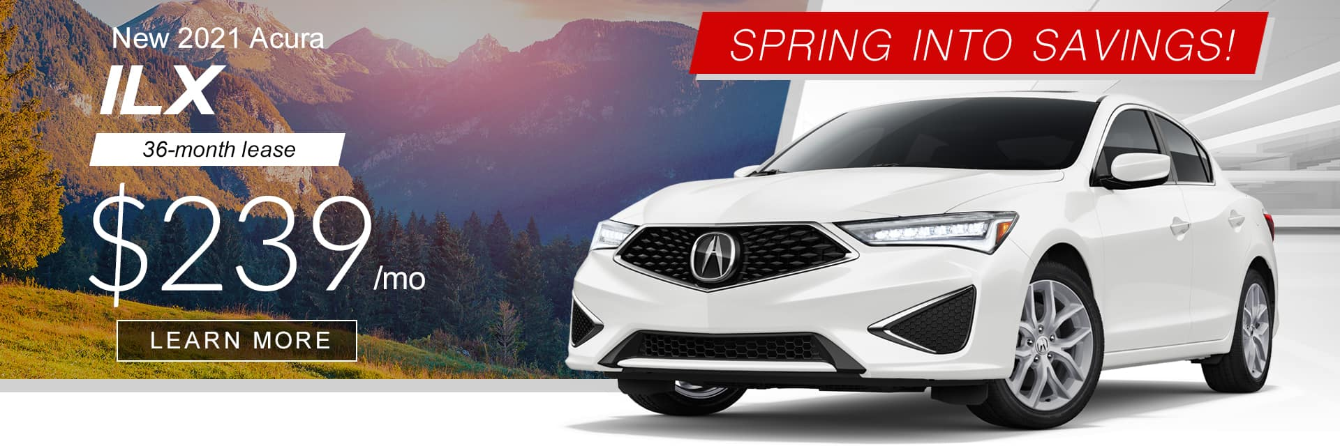 2021 ILX Spring into Savings Banner