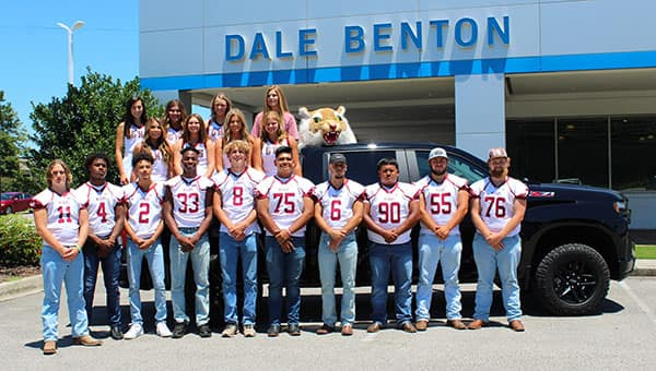 Dale Benton Chevrolet GHS Football Team