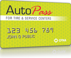 Auto Pass Card Image