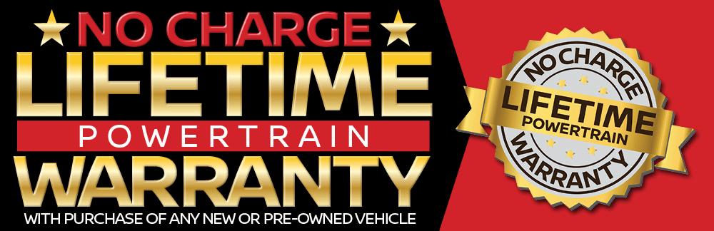 Lifetime Powertrain Warranty