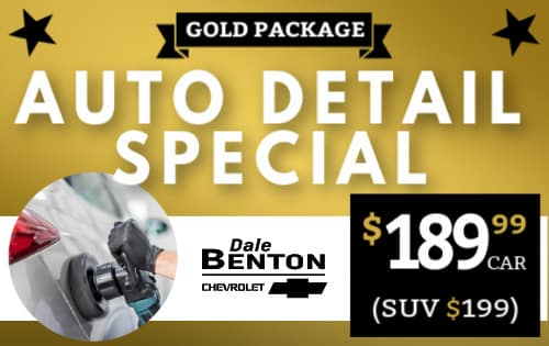Auto Detailing Gold Package