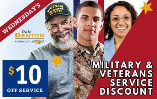 Veterans Military Discount