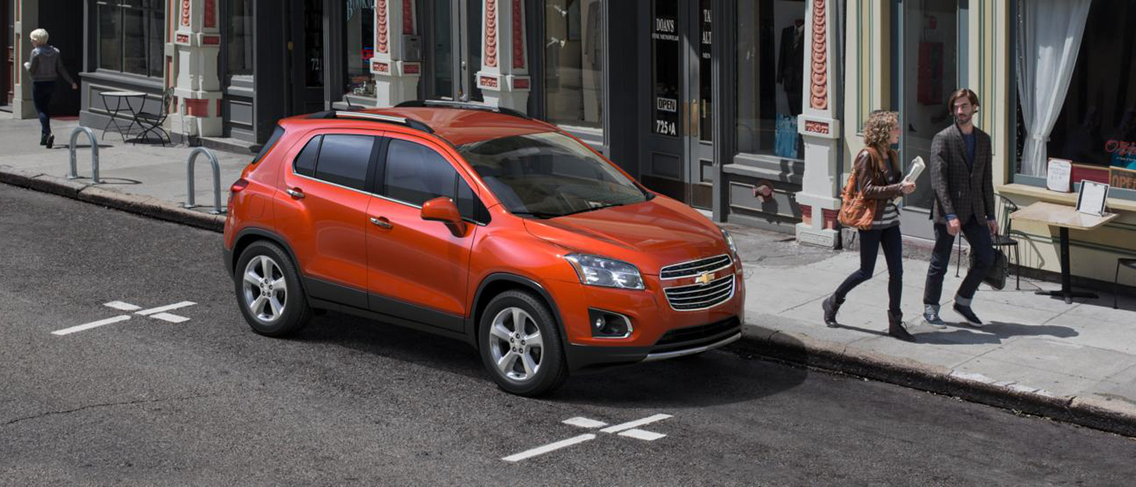 2015 Chevrolet Trax Exterior Front SIde View