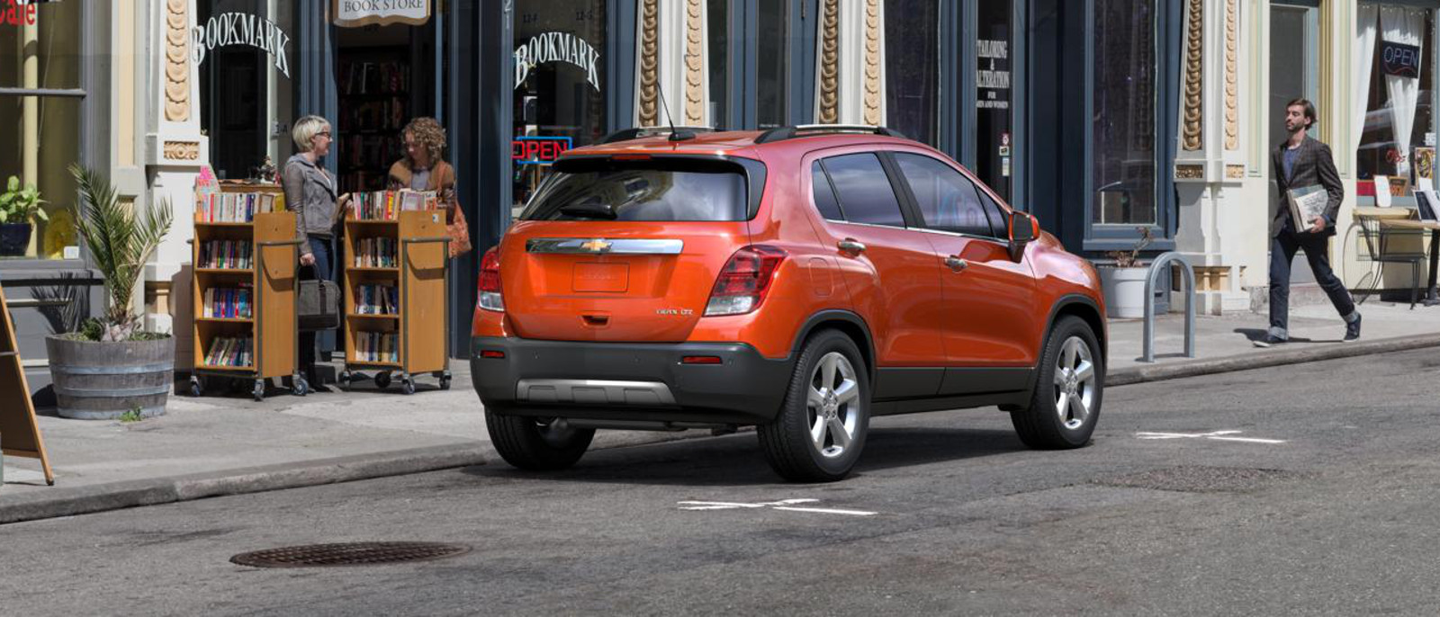 2015 Chevrolet Trax Exterior Rear View