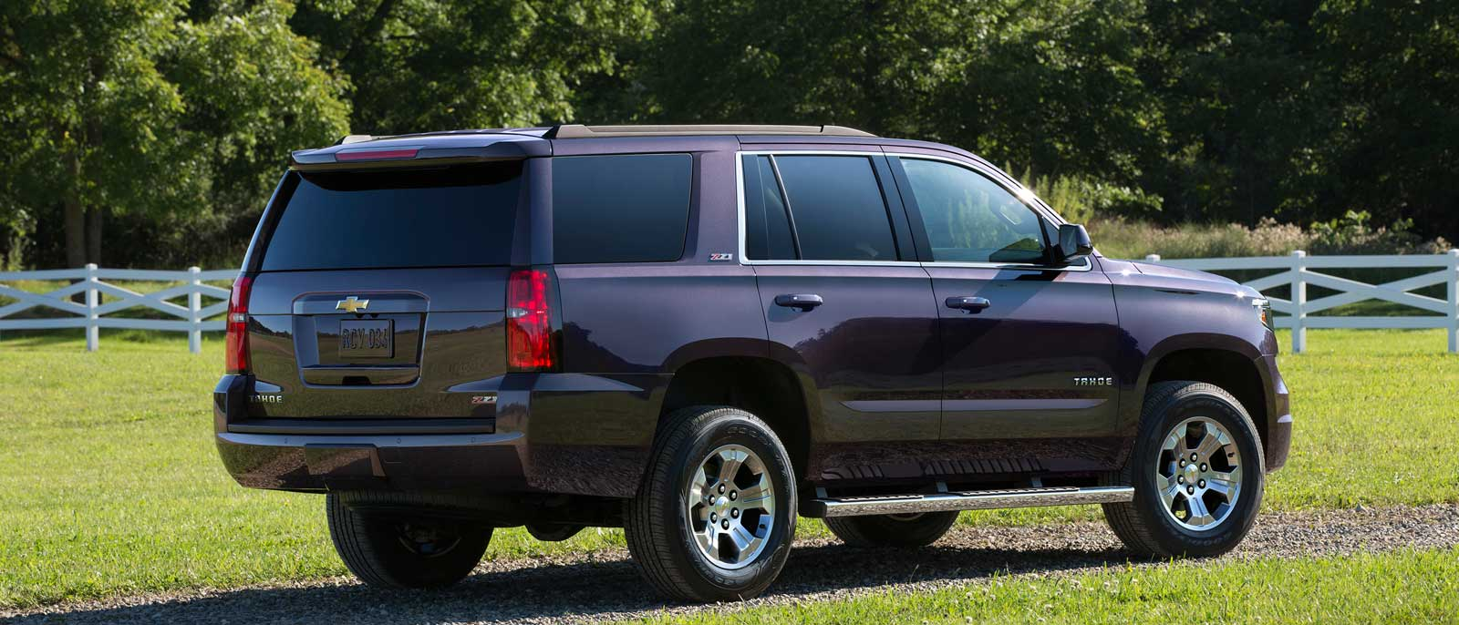 2016 Chevrolet Tahoe back view
