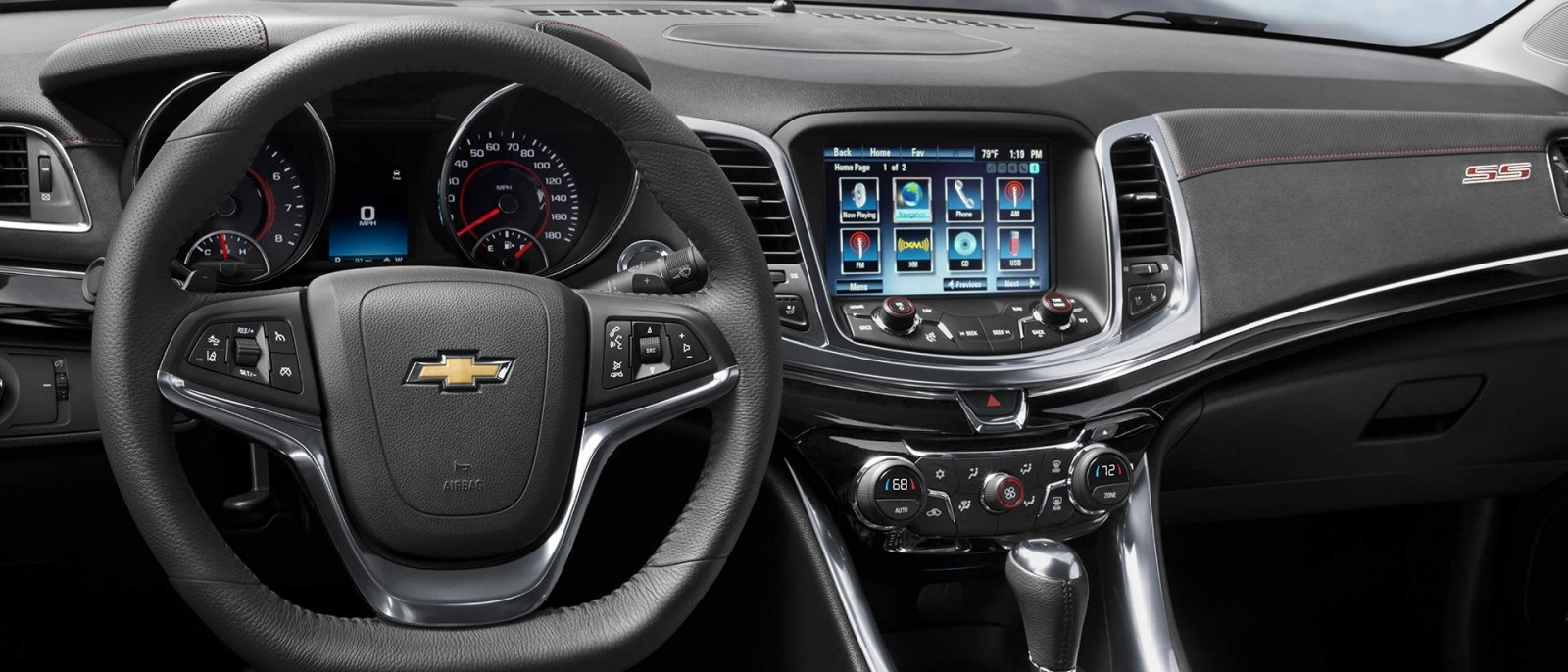 2015 Chevy SS Front Interior