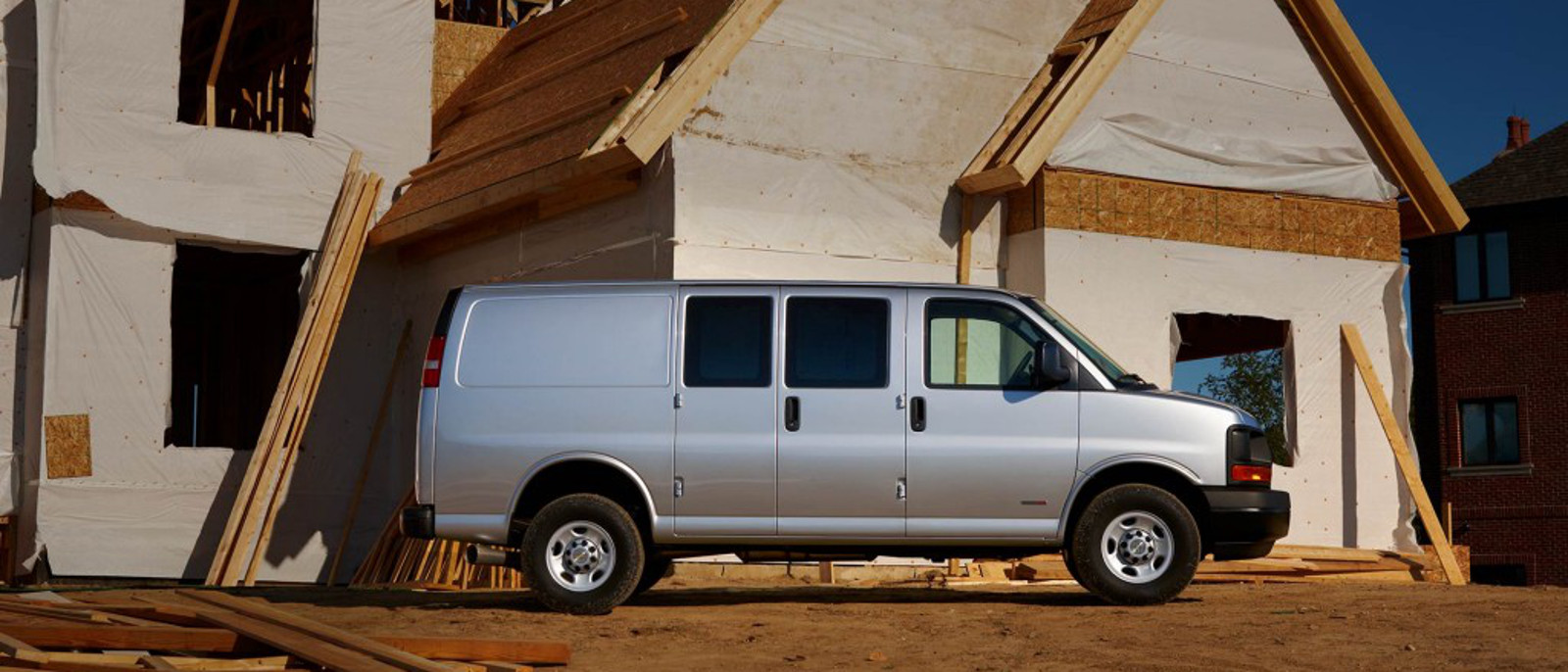 2015 Chevy Express 3500 Cargo