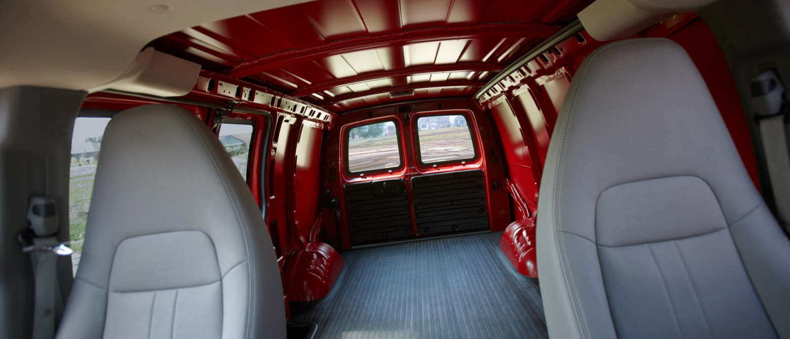 2015 Chevy Express Cargo Interior