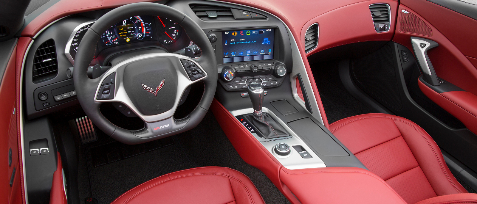 2016 Chevrolet Corvette Z06 Spice Red Design Package