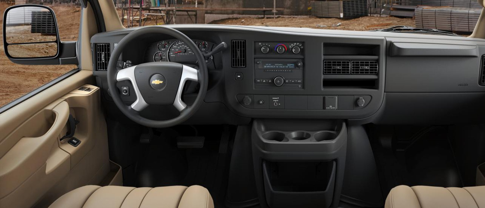 2016 Chevy Express 2500 Interior