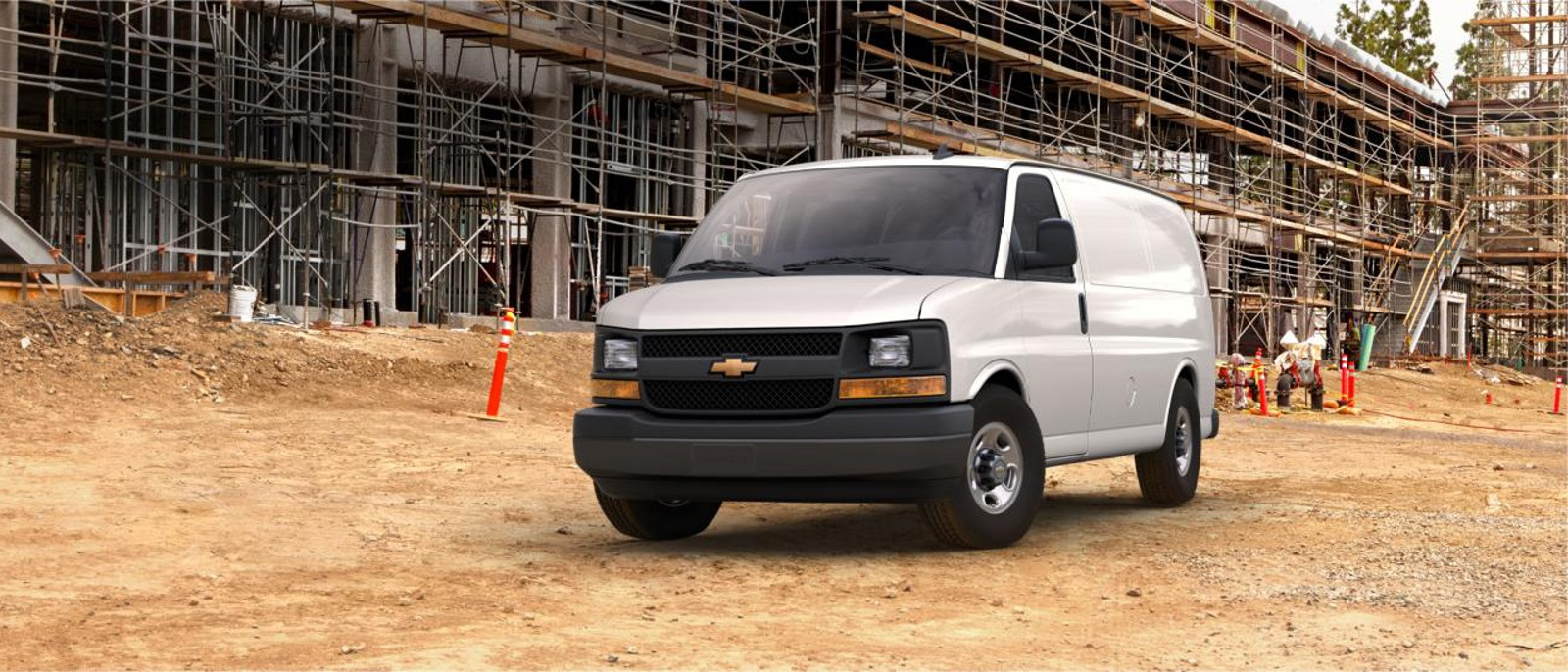 2016 Chevy Express 2500 White