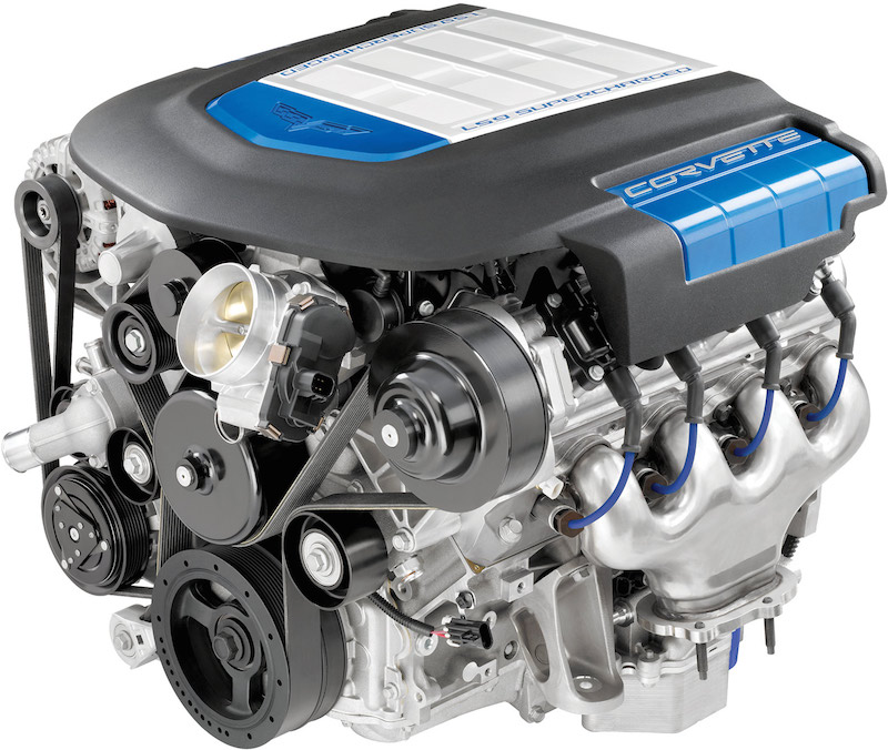 corvette engine top 5 ways today's car engine is different