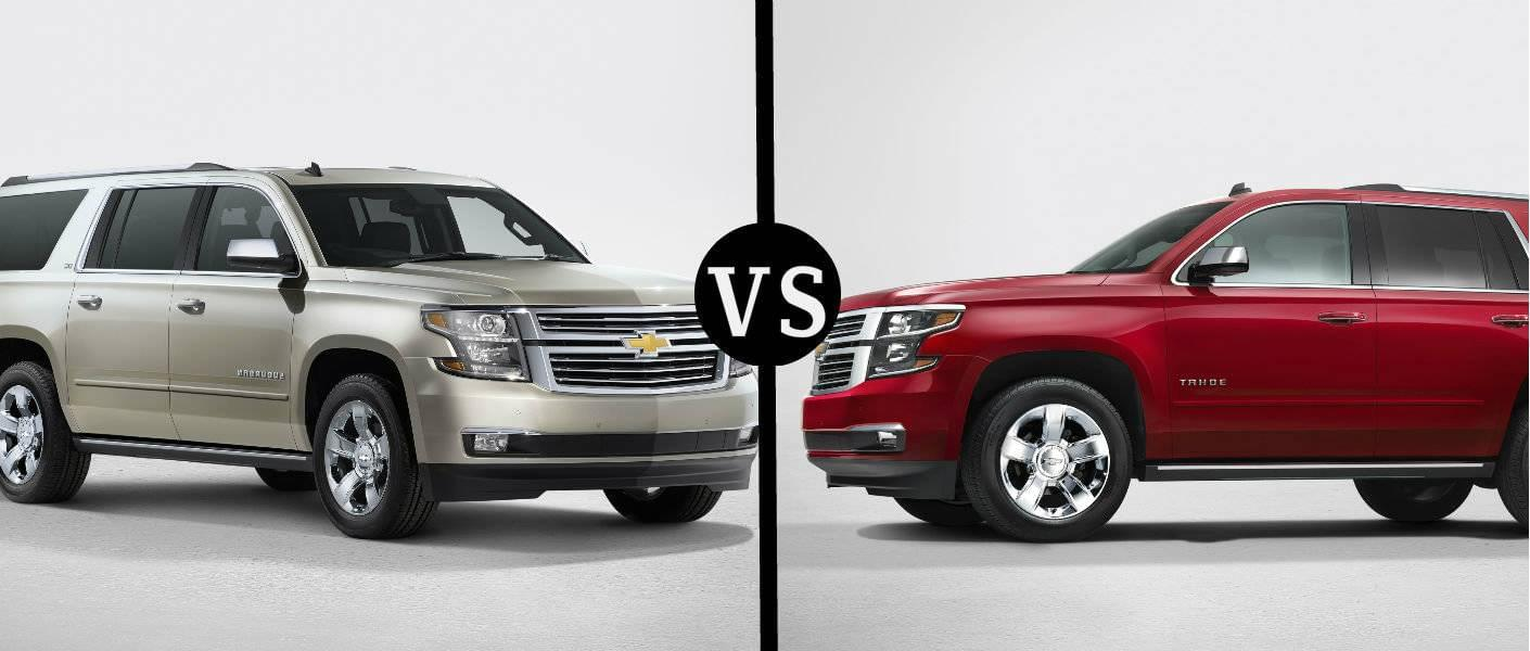 Tahoe Towing Capacity >> Tahoe Vs Suburban What You Need To Know About Chevy S Largest Suvs