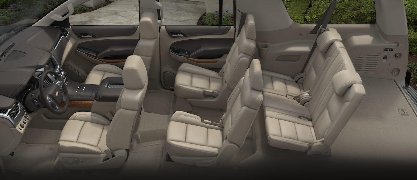 2017 Chevy Suburban Interior Dimensions
