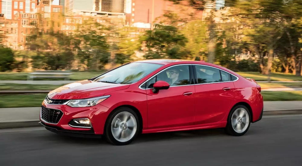 Four Reasons Why the Inexpensive 2018 Chevy Cruze Is the Perfect ...