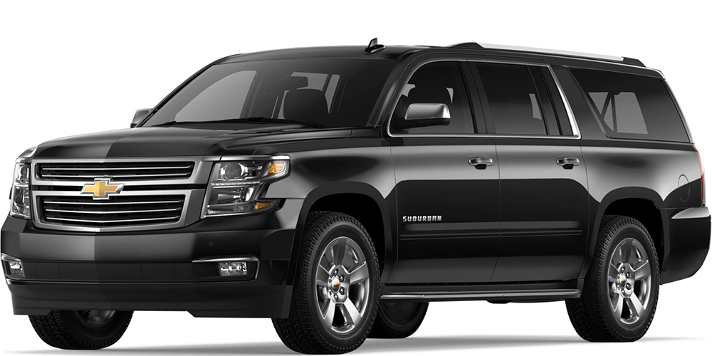 A Chevy SUV - The 2018 Chevy Suburban