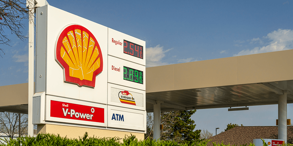 Shell Gas Station partners with Chevy Cars