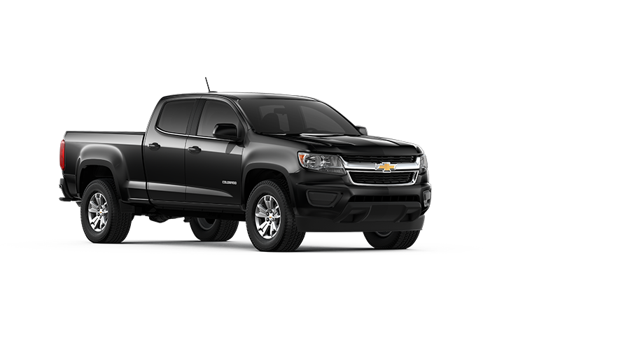Gun metal-gray 2018 Chevy Colorado