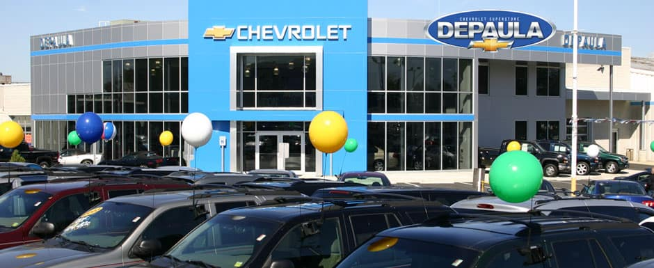 Depaula Chevrolet, a certified pre-owned dealer in Albany,NY
