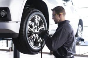 Have your new tires installed by a knowledgeable service technician