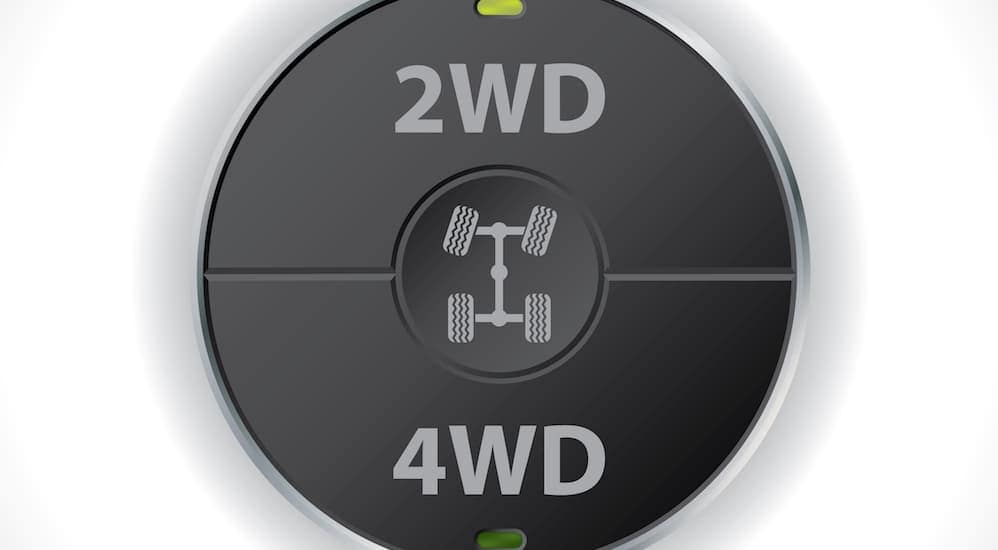 A switch for 2WD and 4WD is shown.