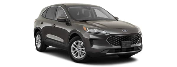 A grey 2020 Ford Escape is facing right.